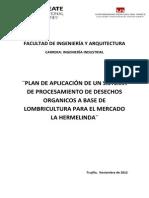 Proyecto Hermelinda- Economia