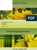 fdm interlanguage project