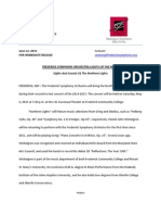 fso nothern lights press release