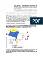 Controlador Carga Bateria Painel Solar