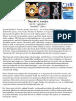 Narrative Jewelry Press Release