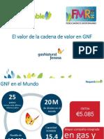 El valor de la cadena de valor en Gas Natural Fenosa