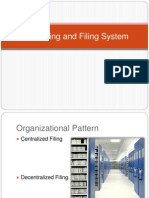 Numbering and Filing System