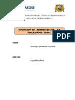 AAAA Monografia - Tecnología Aplicada a La Seguridad