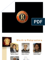 We Are Rotaractors