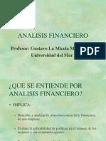 Análisis Financiero. Finanzas de Corto Plazo.