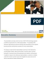 SAP CRM Architecture Overview