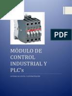 Módulo Control Industrial Plc's