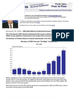 FDIC Data Reflects Continued Economic Slump
