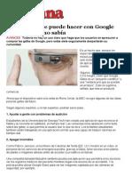Imprimir - Siete Cosas Que Puede Hacer Con Google Glass y Usted No Sabía