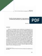 Vias analisis problemas antropologia biol Guichon 1995