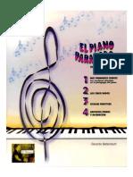 EL PIANO PARA TODOS. APRENDIZAJE BÁSICO. Por Gerardo Betancourt.