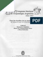 Fugassa  Sardella 2007 Primer examen paleoparasitologico