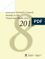 Governor General Award Booklet