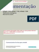 Manual_Hipath_1100 - Usuário Ramal Analógico
