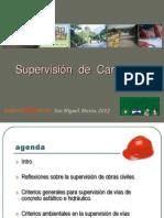 Supervision de Carreteras