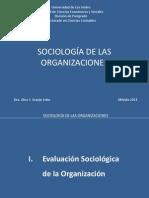 Diapositivas Sociología de Las Organizaciones