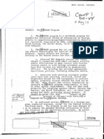 CIA Document on the MHCHAOS Program