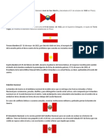 Etapas de La Bandera