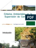 Criterios Ambientales Supervision Obras Ing. Moya