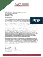 Senator Harkin AASCU Letter