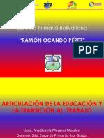 Presentación de La Ponencia r.o.p