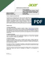 Acer Brasil Garantia