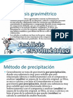 Analisis Gravimetrico