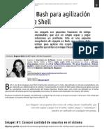 Eugenia Bahit - Snippets en Bash Para Agilización de Scripts de Shell