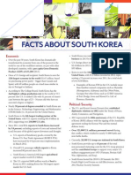 Facts About South Korea (June 2014)