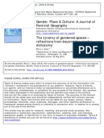++Petra L. Doan (2010) The tyranny of gendered spaces – reflections from beyond the gender dichotomy
