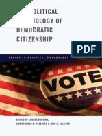 Borgina Et Al 2009 - The Political Psychology of Democratic Citizenship