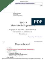TM343 Materiais de Engenharia