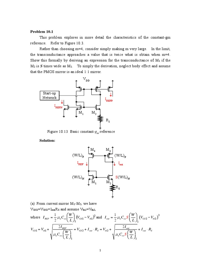 cn_The Design of CMOS Radio-Frequency Integrated Circuits Chapter 10  Solution.pdf | Field Effect Transistor | Electronic Engineering