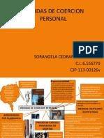 Medidas de Coercion Personal