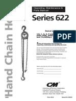 Series 622 Hand Chain Hoist