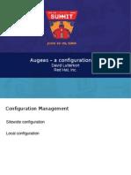 Augeas - A Configuration API