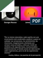 Estallido Del Sentido. Georges Rousse y Turrel