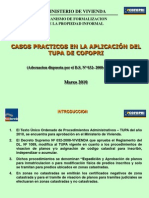 Casos Practicos TUPA Marzo 2010)