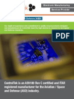 ControlTek - Aviation / Space & Defense (ASD) Brochure