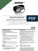 Bose QL 15 manual