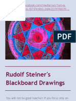 Rudolf Steiner's Blackboard Drawings