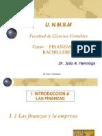I 1 Las finanzas y la empresa - I 2 Sistema financiero.pptx