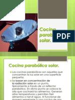 Cocina Parabólica Solar
