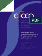 Guia Europea Osteoporosis