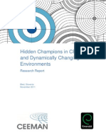Hidden Champions Research Report 2011