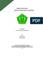 Presentasi Kasus (Osteomielitis)