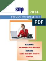 TECNICAS SECRETARIALES 2014