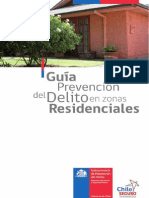Guia Para La Prevencion Del Delito en Zonas Residenciales (2012)