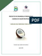 2009. FOMILENIO. Análisis de Mercado Para Coco
